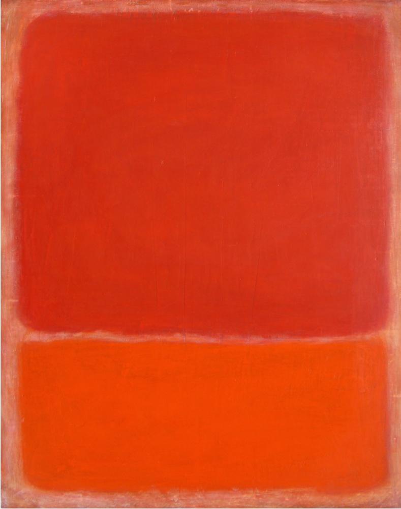 Red And Orange Painting Red And Orange Painting  Home Design
